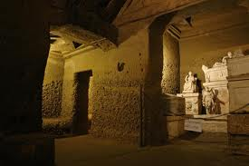 L'Ipogeo dei Volumni. Tomba ipogea etrusca. Si trova a sud est di Perugia, in località Ponte San Giovanni.