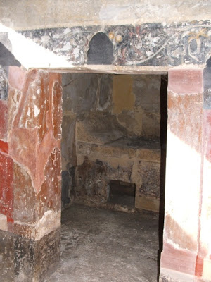 Arpi, interno dell'Ipogeo della Medusa, III-II secolo d.C.