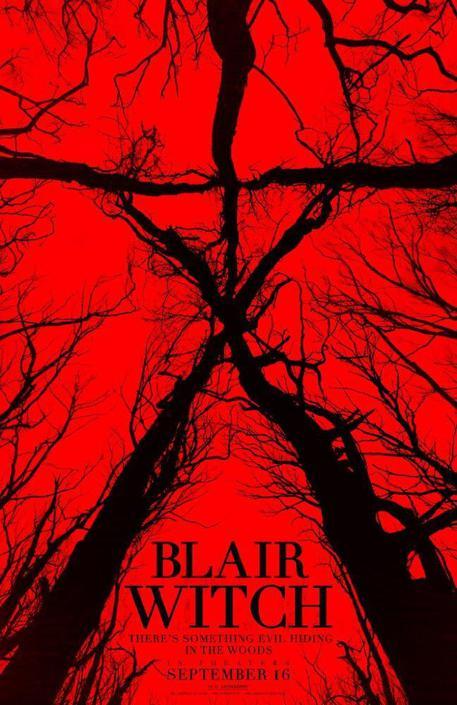 La locandina di 'Blair Witch' 2016