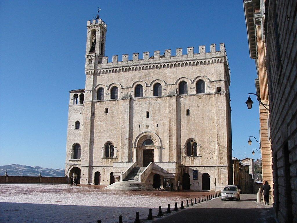 Gubbio: palazzo dei Consoli