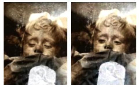 Rosalia - la piccola mummia di Palermo