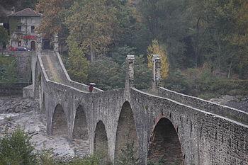 Il ponte del Diavolo di Bobbio (PC)