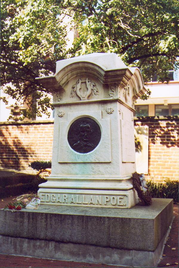 La tomba attuale presso il Westminster Burial Ground